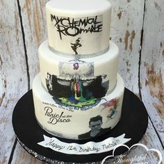 Image result for my chemical romance cake