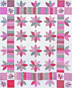 Spring Daisy Quilt | Sew, Knit, Crochet, Embroidery, Quilt ... : shadowed daisy quilt pattern free - Adamdwight.com