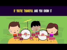 If You're Thankful and You Know It Song for Kids   Thanksgiving Songs for Children   The Kiboomers