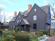 The House of Seven Gables - Salem, Massachusetts (such a fun little town - go in October!)