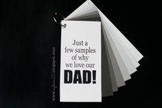 un cadeau simple et précieux : quelques mots d'amour...