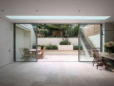 Schiebe-Terrassentür / Aluminium / Doppelverglasung KELLER minimal windows® : DESIGN KELLER AG