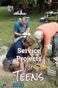 Service Projects for Teens http://homeschoollaunch.com/2016/03/service-projects-for-teens-march-post-draft/