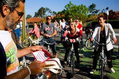 Balades animées à vélo avec Cyclescapade à Labenne-Océan