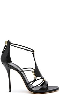 Black heeled sandal. Classic and beautiful. LOOKandLOVEwithLOLO: SPRING 2014 ACCESSORIES: Milan