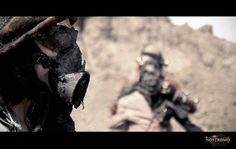"""Still from the postapocalyptic no budget film """"Nostromo"""", shot in Tunisia Sci Fi Films, Post Apocalypse, Types Of People, Civilization, Filmmaking, Science Fiction, Indie, Artwork, Budget"""
