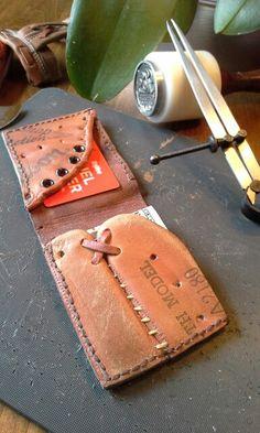Jenn Grote's baseball glove wallet.