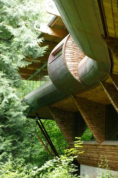 This looks like a human size gerbil tunnel!  communicates contemporary, changing, creative, and kind of artistic feeling