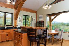McNeil Timber Frame Log Home | Artisan Log Homes