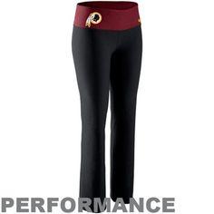 Nike Washington Redskins Ladies Victory Performance Pants - Black