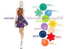Los colores de moda para la primavera 2013 según Pantone