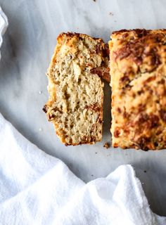 541099b1bf20 Pumpkin Cider Beer Bread with Bacon and Cheddar