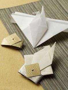 Origami Crane Card - Video Tutorial