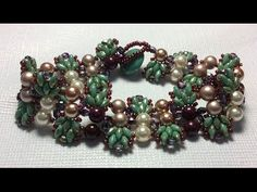 Dutch Tulip Bracelet  #Seed #Bead #Tutorials