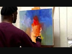 """The Artist Hines paints """"Sublime"""" - YouTube"""