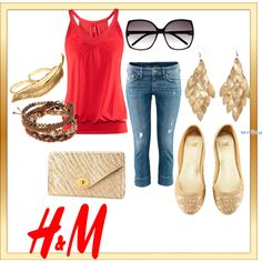 H, created by juarezcourtney on Polyvore