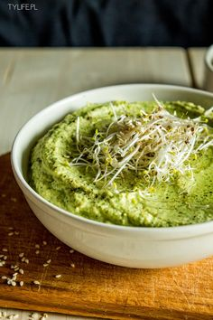 Taste Your Life - blog kulinarny : Hummus z cukinii.