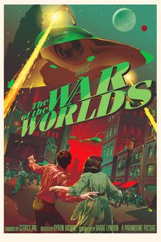 War of the Worlds Poster by Stan & Vince
