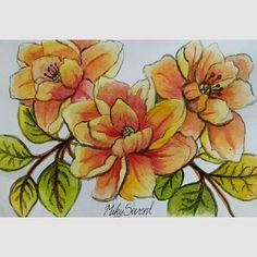 #watercolors #flowers