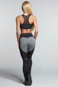 Womens workout fitness leggings. Yoga c9a53b6bdf16