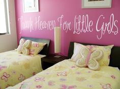 cute little girls room! :)