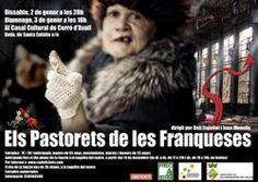 """Representació d'""""Els Pastorets de les Franqueses"""", al Casal Cultural de Corró d'Avall (Les Franqueses del Vallès). 2 i 3 de gener de 2016"""