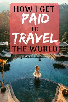 """How to get paid to travel the world as a travel blogger: The world of travel blogging has been around for a while, but most people have no idea how bloggers make money. The questions I get asked the most are """"How do you afford to travel?"""" or """"How do you get paid to travel the world?"""" Making money through travel  - travel jobs - how to monetize a travel blog - travel blogger income - social media marketing - full time travel #travelblog #travelblogger #socialmedia #socialmediamarketing…"""