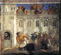 Fra Angelico | Frescoes in the Cappella Niccolina of the Palazzi Pontifici in Vatican (1447-49) |