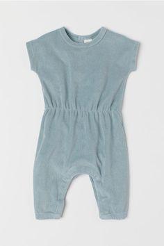 d21e4e0b098 Terry Jumpsuit - Light turquoise - Kids