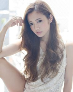 ロング~フェミニン~(HA-105) Japanese Beauty, Asian Beauty, Pretty Hairstyles, Girl Hairstyles, Long Hair Cuts, Long Hair Styles, Balayage Long Hair, Japanese Hairstyle, Salon Style