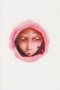 © Rebecca Dautremer | by loretoidas Art And Illustration, Illustrations And Posters, Fantasy Anime, Fantasy Art, Tarot, Art Corner, Foto Art, Surreal Art, Art Images