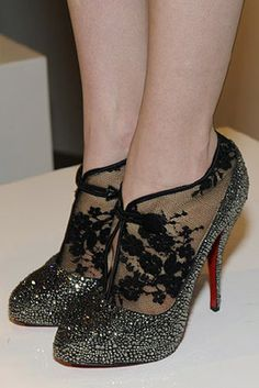 Adore these beaded shoes