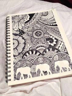 Amazing!!! En varias oportunidades me he dedicado a hacer portadas para mis cuadernos de la universidad, esta es una buena idea para hacer otro. ^-^