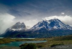 Parque Nacional Torres del Paine – Chile by Cristina Valencia Patagonia, Torres Del Paine National Park, Reserva Natural, Andes Mountains, Trip Planning, South America, Kayaking, Cool Pictures, National Parks
