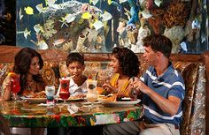Visiting San Antonio is not just serving up food, but also sharing the best food and dining experiences, and we're ready to host you. Rainforest Cafe Menu, San Antonio Restaurants, Texas Forever, Kids Menu, Historical Sites, Volcano, Don't Forget, Seafood, Sandwiches