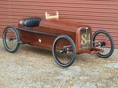 Woody pedal car