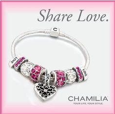 Love Chamilia Bracelets Chamilia Jewelry Pandora