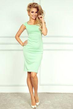 Elegantní dámské letní šaty s mini rukávy SaF 87994bebeb