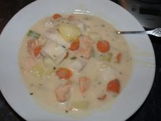 Fish Soup quickly done:) Fish Soup, Cheeseburger Chowder, Recipes, Food, Blogging, Fish Chowder, Meal, Chowder, Food Recipes