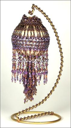 Beaded Ornament by Marilyn Peters