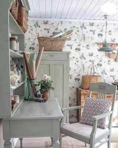 Cottage Living, Cottage Style, English Decor, Ideas Hogar, Interior Decorating, Interior Design, Cottage Interiors, Shabby Chic Homes, Cozy House
