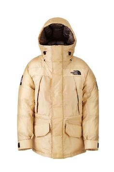 The North Face Moon Parka is Crafted from Synthetic Spider Silk for Performance #fashion trendhunter.com