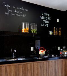 parede tinta lousa cozinha - Pesquisa Google