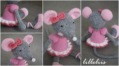 Ballerina-Mouse (Nederlands) - Happy Stitches