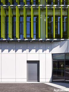 Erich Kästner primary school, Leipzig | Germany | pbr Planungsbüro Rohling AG Architekten + Ingenieure, Stuttgart | Photo: Michael Moser | ALUCOBOND® plus Cream