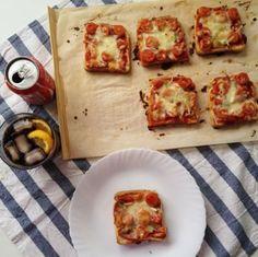 16 recetas para sándwiches. Pizza sándwich!