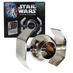 Calling Star Wars fans! Right now you can get this fun & handy Star Wars XL Metal Nut Cracker - Tie Fighter for $44.95 shipped (Reg. $69.99)!   Click the link below to get all of the details ► http://www.thecouponingcouple.com/star-wars-xl-metal-nut-cracker-tie-fighter-only-44-95-shipped-reg-69-99/