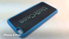 iPhone 6 Plus 6S plus Blue rubber Create your Cellphone case! Créer votre étui de cellulaire sur mesure fabriqué au Québec! www.UnikCase.com
