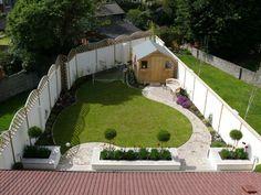 Triangular Garden Designs