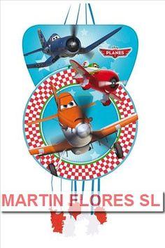 Piñata grande de Aviones. Más en www.martinfloressl.es